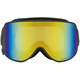 Red Bull SPECT Magnetron Eon Goggles, olive green/yellow snow